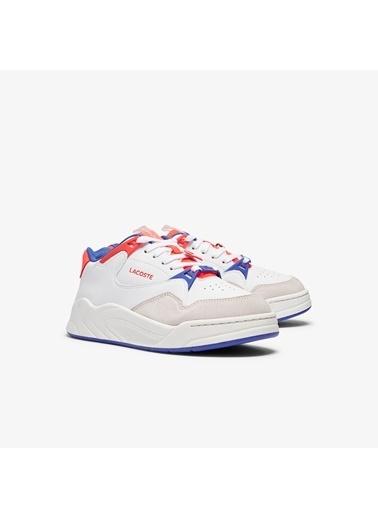 Lacoste Kadın Court Slam 0721 3 Sfa Sneakers 741SFA0061.080 Beyaz